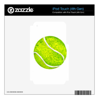 Tennis Ball Sketch4 Decal For iPod Touch 4G