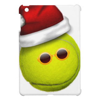 Tennis ball smiles in Christmas Cover For The iPad Mini