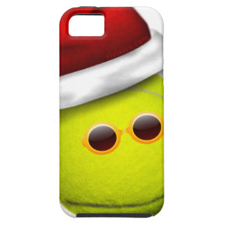 Tennis ball smiles in Christmas iPhone SE/5/5s Case