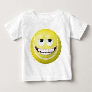 Tennis Ball Smiley Face 2 Baby T-Shirt