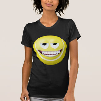 Tennis Ball Smiley Face 2 Tee Shirts