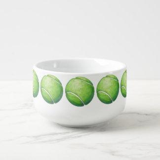 Tennis Ball Soup Mug