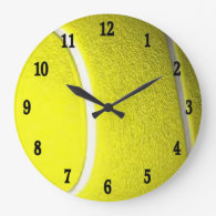 Tennis Ball Sport Wall Clock