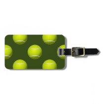 Tennis Ball Sports Bag Tag