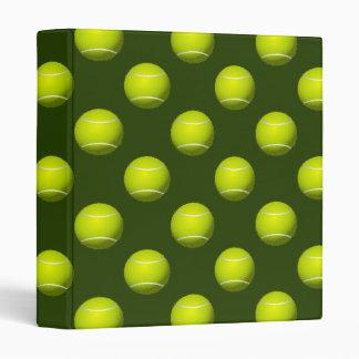 Tennis Ball Sports Binder