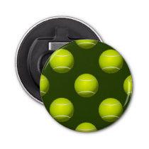 Tennis Ball Sports Bottle Opener