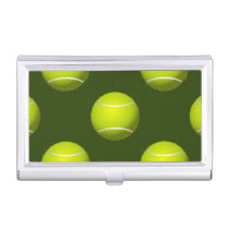 Tennis Ball Sports Business Card Case