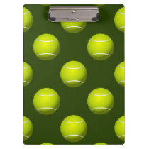Tennis Ball Sports Clipboard