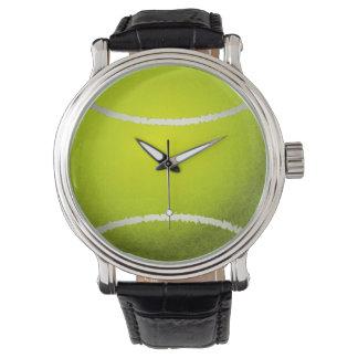 tennis ball sports design wrist watch