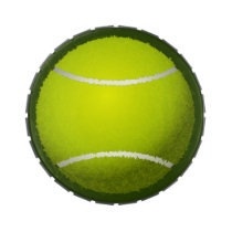 Tennis Ball Sports Jelly Belly Tin