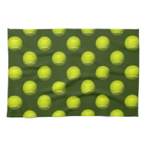 Tennis Ball Sports Kitchen Towel