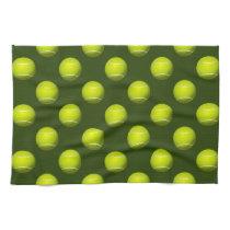 Tennis Ball Sports Kitchen Towels