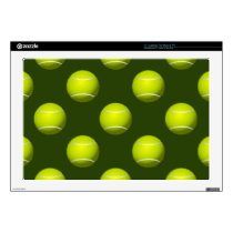 Tennis Ball Sports Laptop Decal