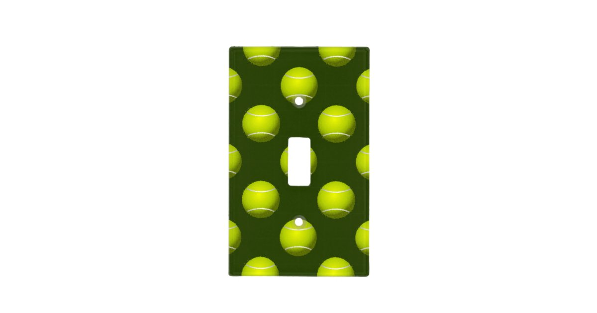 Tennis Ball Sports Light Switch Cover Zazzle