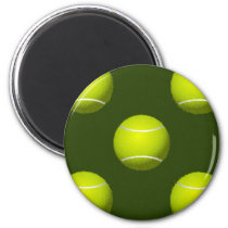 Tennis Ball Sports Magnet