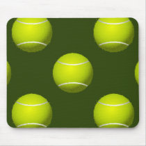 Tennis Ball Sports Mouse Pad