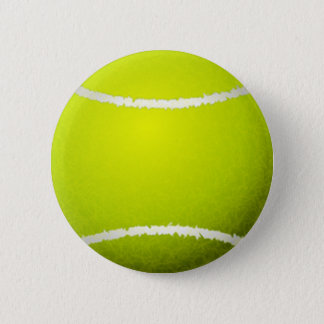 Tennis Ball Sports Pinback Button