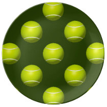 Tennis Ball Sports Porcelain Plate