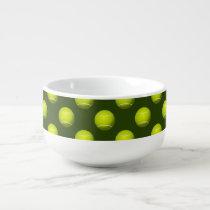Tennis Ball Sports Soup Mug