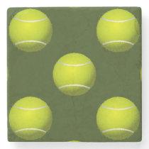 Tennis Ball Sports Stone Coaster