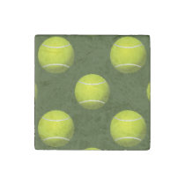 Tennis Ball Sports Stone Magnet