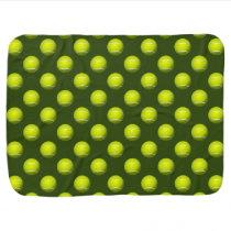 Tennis Ball Sports Stroller Blanket