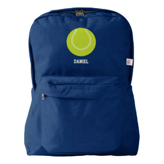 Tennis Ball Sports Themed American Apparel™ Backpack