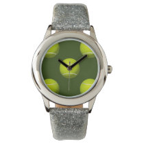 Tennis Ball Sports Wrist Watches