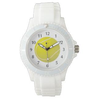 Tennis ball sports wristwatch