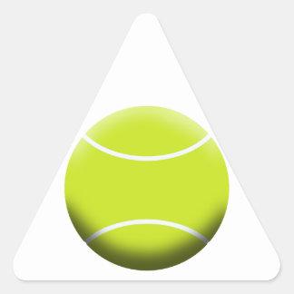 TENNIS BALL TRIANGLE STICKER