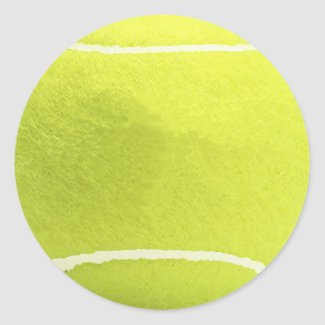 Tennis Ball Stickers