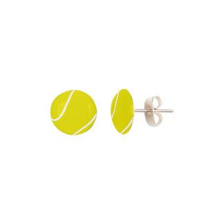 Tennis Ball Stud Earrings