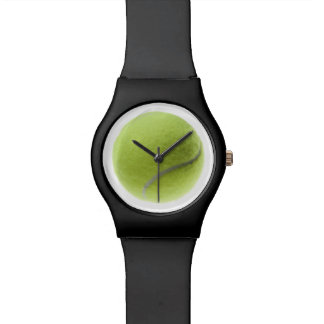 Tennis Ball Template Sports Tennis Balls Wristwatch
