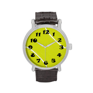 Tennis Ball Time Wrist Watches