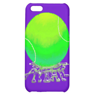 tennis ball w spit case case for iPhone 5C