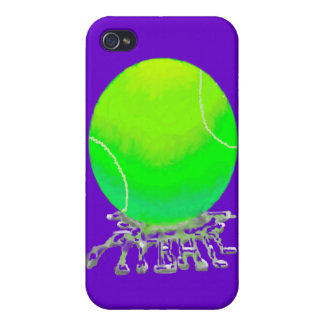tennis ball w spit case covers for iPhone 4