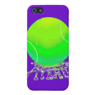 tennis ball w spit case iPhone 5 cases