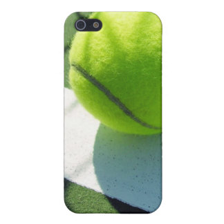 Tennis ball white line net iPhone cover case