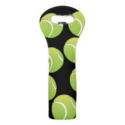 Tennis Ball Wine Tote