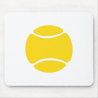 Tennis Ball Yellow Mouse Pad