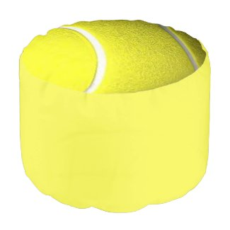 Tennis Ball Yellow Ottoman