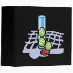 Tennis Balls 3 Ring Binder