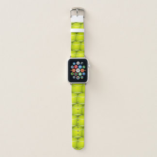 Tennis Balls Abstract Apple Watch Band. Apple Watch Band