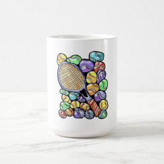 Tennis Balls and Racquet Coffee Mug