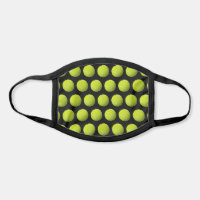 Tennis Balls Customizable Background Face Mask