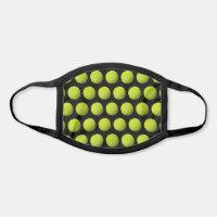 Tennis Balls Customizable Background Face Mask
