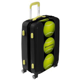 Tennis Balls Design Luggage