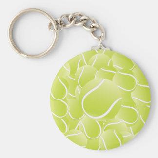 tennis balls keychain