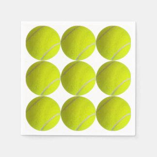Tennis Balls Paper Napkin