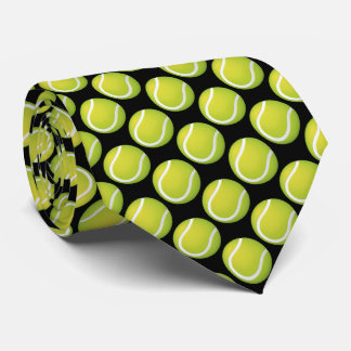 Tennis Balls Pattern | Sport Gift Neck Tie